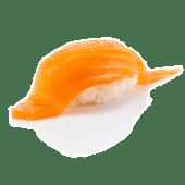 სუში ორაგულით, 1 ცალი / Salmon Sushi, 1pc.