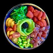 Poke bowl de atún