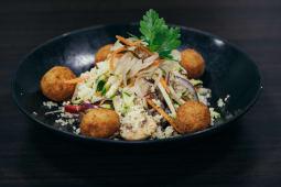 Rižoto od prosa s falafelom