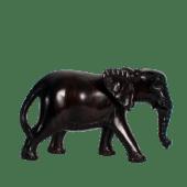 Elephant Ebony Wooden Sculpture