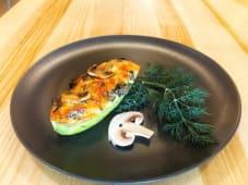 Кабачок, фарширований Грибами й овочами (150г)