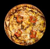 Pizza barbacoa crème