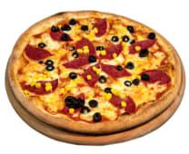 Salamlı Pizza (32 cm.)