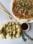 Піца Прикопчене курча з песто (480г)