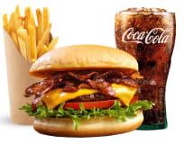 Menu Mac Bacon + frite + boisson