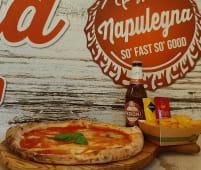 Combo 1-Pizza Margherita, Patatine fritte 200 g, Birra Peroni 33 cl