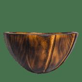 Edgy Jacaranda Wooden Salad Bowl