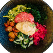 Raw vegan bowl