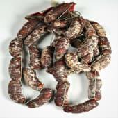 Chorizo Extra Bellota Ibérico Capadura. 500 G Aprox.
