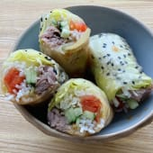 Beef&Kimchi Spring Rolls (200г)