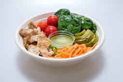 Fresh bowl protein curcan