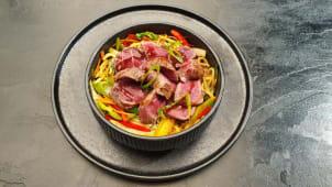 Steak i wok