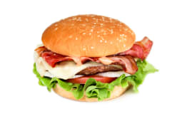 Hambúrger de Picanha com Bacon