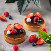 Тарт з ягодами (1шт)