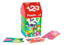 Puzzle Casinha 123 Apli 30pcs 14806