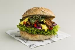 Vegan Pastrami Burger