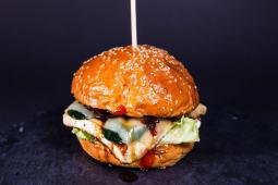 Diana's Vegetarian Burger