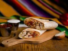 Burrito Fajitas de pui