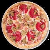 Pizza quattro stagione (pequeña)