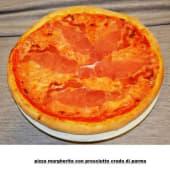 Margherita con prosciutto crudo di Parma