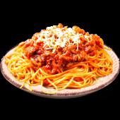 Spaghetti bolognese con manzo