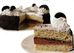 Torta de galleta de chocolate mediana (25 porciones)