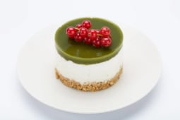 MACHA Vegan Cheesecake