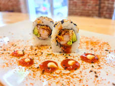 Spicy gambas crunch roll (8 uds.)