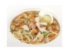 Суп з курчати з локшиною і білими грибами (250г)