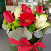 Sushi flower love
