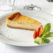 49. Tarta de queso hecha en casa con caramelo toffee