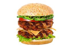 Двойной Гриль бургер