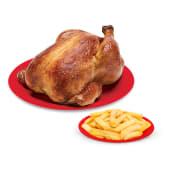 Pollo + papas fritas