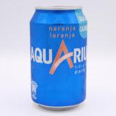 Aquarius Naranja Lata De 33 Centilitros