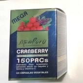 Cranberry 150 Pacs. Estado Puro (40 cápsulas)