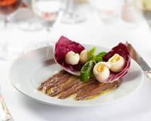 Filetti di acciughe del mar Cantabrico con burro