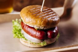 Burger Kiełburger podwójny