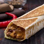 Burrito de chili con carne