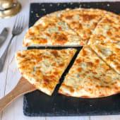 Піца Чотири сиру шматочок