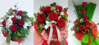 Buket s 5 crvenih ruža