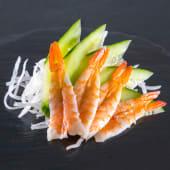 Sashimi de langostino (4 uds.)