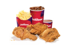3-pz Chickenjoy - Patatine Medie - Bibita 0,4L