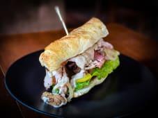 Сендвіч зі свининою