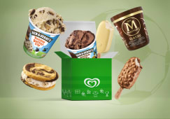 Box calcio Magnum e Ben & Jerry's
