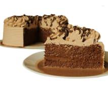 Torta de tres leches chocolate (25 porciones)