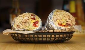 Burrito maiale