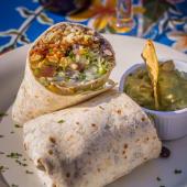 Burrito vegetarian