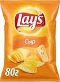 Чіпси картопляні зі смаком сиру Lay's (80/71г)