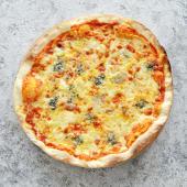 4 ყველის პიცა 4 ნაჭერი