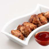 Alitas de pollo con salsa picante (6 uds.)